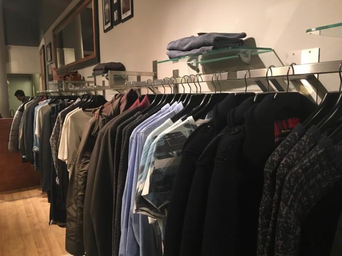 Blogger Joe Peters visits Tonic menswear